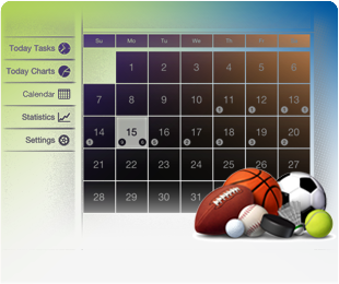Scheduler for better sports life